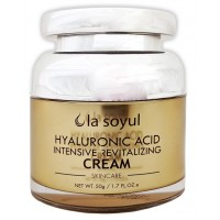 Крем с гиалуроновой кислотой восстанавливающий La Soyul Luxury Hyaluronic Acid Intensive Revitalizing Cream