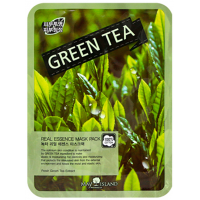 Маска тканевая с экстрактом зеленого чая May Island Mask Green Tea