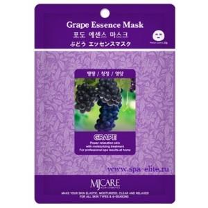 Маска для лица тканевая с виноградом Mijin Grape Essence Mask