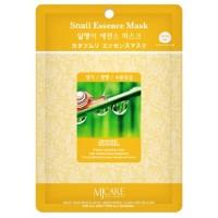 Маска тканевая с муцином улитки Mijin Snail Essence Mask