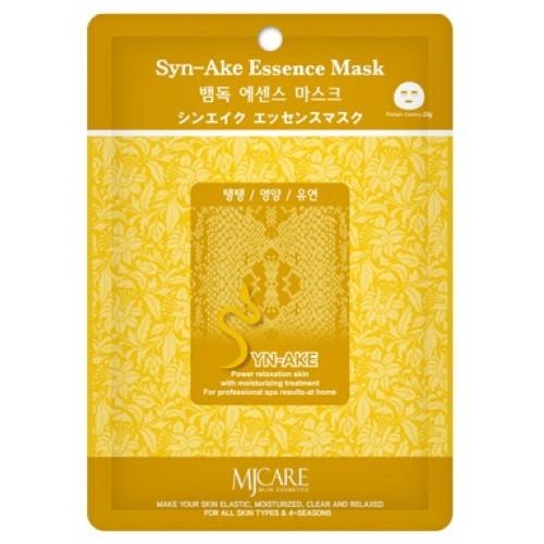Маска тканевая со змеиным ядом Mijin Syn-Ake Essence Mask (годен до: 26.12.2019)