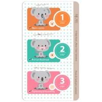 Набор для удаления черных точек Mijin 3-Step Koala Nose Clear Solution