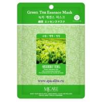 Маска тканевая с экстрактом зеленого чая