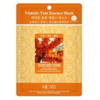 Маска тканевая с облепихой Mijin Vitamin Tree Essence Mask