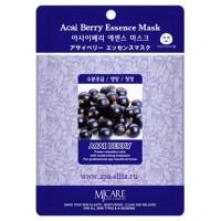 Маска тканевая с экстрактом ягоды асаи Mijin Acai Berry Essence Mask