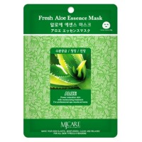 Маска тканевая с алоэ Mijin Fresh Aloe Essence Mask