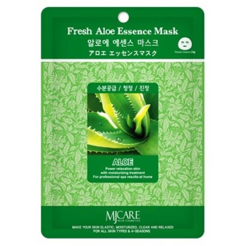 Маска тканевая с алоэ Mijin Fresh Aloe Essence Mask (годен до: 22.12.2019)