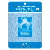 Маска тканевая с хлореллой Mijin Chlorella Essence Mask