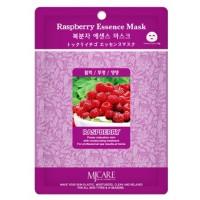 Маска тканевая с экстрактом малины Mijin Raspberry Essence Mask