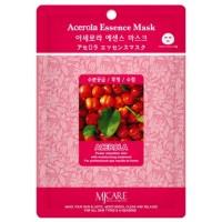 Маска тканевая с экстрактом ацеролы Mijin Acerola Essence Mask