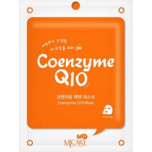 Маска тканевая с коэнзимом Mijin Coenzyme Q10 Mask Pack