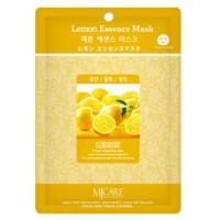 Маска тканевая с экстрактом лимона Mijin Lemon Essence Mask