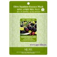 Маска для лица тканевая с оливковым скваланом