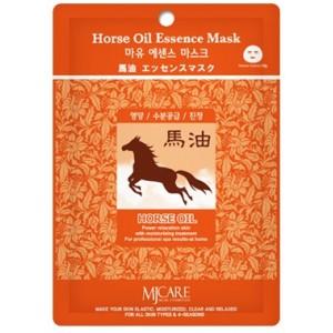 Маска тканевая с лошадиным жиром Mijin Horse Oil Essence Mask