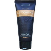 Жидкое мыло - пенка для мужчин / Крем для бритья Mukunghwa Rossom Grooming Mild Control
