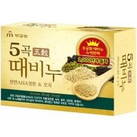 "Мыло-скраб ""Пять злаков"" Mukunghwa Five Grains Scrub Soap"