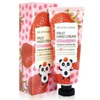 Крем для рук с экстрактом клубники Milatte Fashiony Hand Cream Strawberry