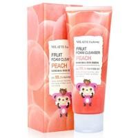 Пенка с экстрактом персика Milatte Fashiony Fruit Foam Cleanser Peach