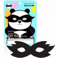 Маска - панда от морщин и темных кругов вокруг глаз Milatte Black Eye Mask