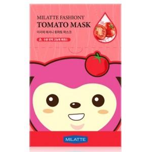 Маска тканевая томатная Milatte Fashiony Tomato Mask