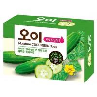 Мыло с экстрактом огурца Mukunghwa Moisture Cucumber Soap