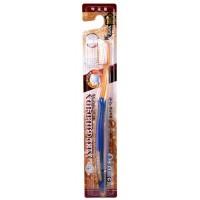 Зубная щетка с золотым напылением
