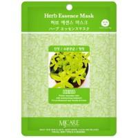Маска тканевая с экстрактом лечебных трав Mijin Herb Essence Mask
