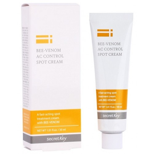 Крем для проблемной кожи с пчелиным ядом Secret Key Bee Venom Cream (годен до: 31/01/2020)