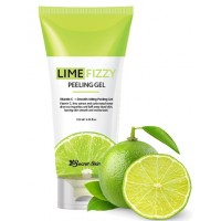 Гель - скатка с экстрактом лайма Secret Skin Lime Fizzy Peeling Gel