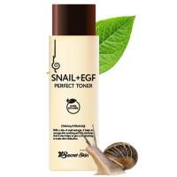 Тонер с муцином улитки и EGF Secret Skin Snail EGF Perfect Toner