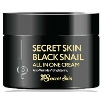 Крем на основе муцина черной улитки Secret Skin Black Snail All In One Cream