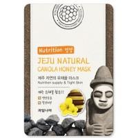 Маска для лица питательная с экстрактом меда Jeju Natural Canola Honey Mask