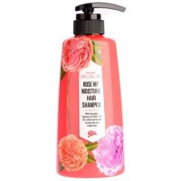 Шампунь с маслом шиповника Welcos Rose Hip Hair Shampoo