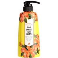 Шампунь для поврежденных волос с аргановым маслом