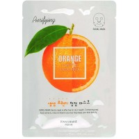 "Маска тканевая очищающая ""Апельсин"" Welcos Orange Facial Mask"